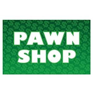 US Flag Store Pawn Shop 旗帜,3 x 5 英尺