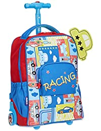 [JERworl] 儿童西装包 儿童手提包 PIXIE-KRB-15N-RACING 38cm 0.7kg PIXIE-KRB-15N-RACING