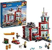 LEGO 乐高 城市组 城市消防局 60215 积木 玩具 男孩 车