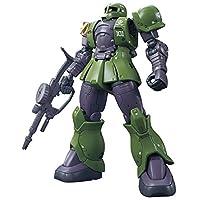 钢弹模型 HG 机动战士高达 THE ORIGIN 扎古Ⅰ(Denim/Slender机)1/144系列 上色版塑料模型