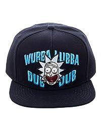 Rick & Morty Wubba Lubba Dub Dub Dub 黑色后扣帽 10 英寸帽子