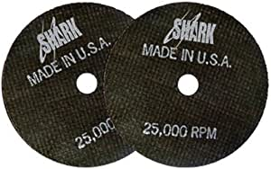 Shark Welding 12716 Shark Cut-Off 轮 50-Pack 12717