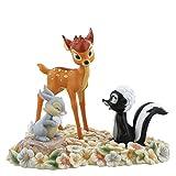 Enchanting Disney 漂亮花朵机车,Thumper and Flower Figurine