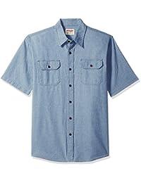 Wrangler Authentics Authentics 男式短袖经典针织衬衫