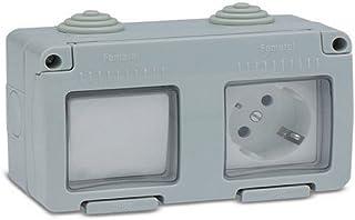 Famatel m111834 – TT 电源插座 底座带开关 防水