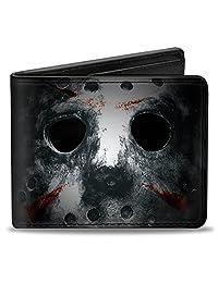 buckle-down 钱包 Jason mask3close-up + 星期五*十三届黑色/grays/Re 配件