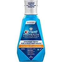 Crest Pro-Health Advanced Mouthwash with Extra Tartar Protection, Refreshing Mint 16.90 oz 2片装
