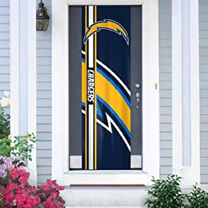 NFL San Diego Chargers Team Color and Logo Door Banner