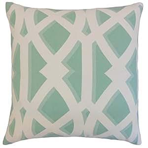 "The Pillow Collection Yalitza 户外欧式枕套Seaspray ""Multi"" Standard/20"" x 26"" STD-FT-29019-SEASPRAY-OUT"