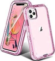 ORIbox iPhone 保护套,重型防震防摔保护套iPhone 11 pro Case  iPhone 11 pro iPhone 11 Pro 水晶红