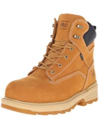 Timberland PRO Men's 6 Inch Resistor Comp Toe WP INS Work Boot