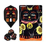 飞镖盘 特别包装 游戏卡+飞行员 招财猫 黑色