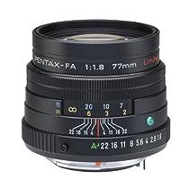 Pentax 宾得 smc PENTAX-FA77mmF1.8 Limited 镜头(黑色)