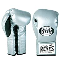 Cleto Reyes Safetec Professional Boxing Fight Gloves - Black