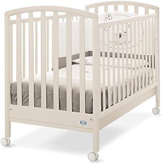 Pali 001600B 婴儿床 Ciak 经典款,白色