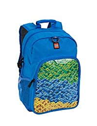 LEGO Kids' Waterfall Heritage Classic Backpack, Blue, One Size