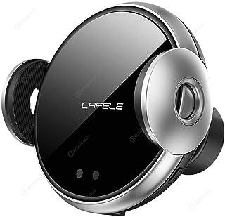 CAFELE 手机无线车载充电器 QI 认证,带有用于通风口的自动夹紧系统。 保护壳。 兼容三星 Galaxy10 / S10 / S20 iPhone 11/11 Pro / 11 Pro Max,XS/XS Max/X / 8