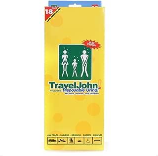 traveljohn 一次性 urinal