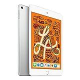 【2019新款】Apple iPad mini 2019新款平板电脑 7.9英寸(64G WiFi版/A12芯片/Retina显示屏/MUQX2CH/A) 银色+Chirslain清洁套装