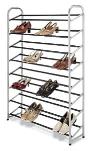 Whitmor 鞋架 银色 40-PAIR 6705-3945