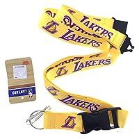 NBA 球队运动挂绳 La Lakers - Yellow