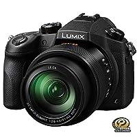 松下 Lumix DMC-FZ1000 数码相机 黑色 4K 1英寸传感器 2110万像素 F2.8-4.0 16倍光学变焦
