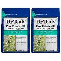 Dr. teal 泡沫浴 2 Pack, Bath Salt