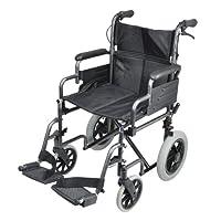 Deluxe Attendant 行车钢制轮椅 1 St. / S