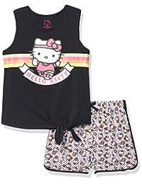 Hello Kitty 女童短袖短裤套装