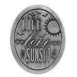 生活、爱情、日落、遮阳帽夹。