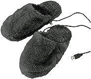 PANTOFOLIE TRAMITE USB ABEL PC 计算机 SCALDA 电热拖鞋 Tg 40-46