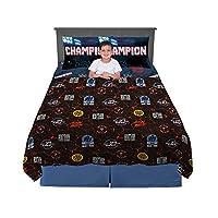 Franco 儿童床上用品超柔软超细纤维床单套装 Wwe Super Stars 4 Piece Full Size NB1848