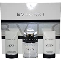 Bvlgari宝格丽绅士礼盒三件套男士香水+须后乳+沐浴露 持久淡香