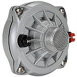 VOYZ 专业铝制压缩喇叭驱动 200 瓦酚醛膜隔膜 1.5 英寸(螺丝式)(VZ-250XT)