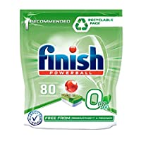 Finish 0% Dishwasher Tablets - 80 Tabs