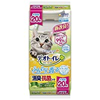 Deo-Toilet 宠物厕所用 柔软清香 天然香皂香味 20片