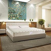 金可儿 超薄床垫 席梦思弹簧 高箱床定制硬床垫 1.8*2m 圣马洛(供应商直送)