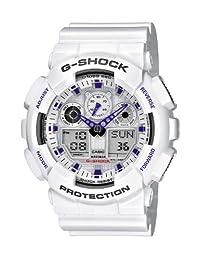 Casio 卡西欧 G-Shock 男式手表模拟/ 数字石英手表树脂带–GA-100A