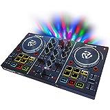 """numark 派对混合 DJ 控制器, 五彩 2.00""""x 12.80"""" x 7.75"""""""