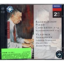 进口CD:拉赫玛尼诺夫 第1-4号钢琴协奏曲(444 839-2)(CD)