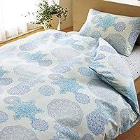 西川家居用品 被套 ON22 德国花边 花边 单人150×210cm 浅灰蓝色 2138-22133