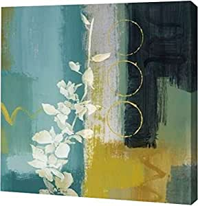"PrintArt GW-POD-34-7970-12x12 ""地中海花卉 II""Lanie Loreth 画廊装裱艺术微喷油画艺术印刷品 30"" x 30"" GW-POD-34-7970-30x30"