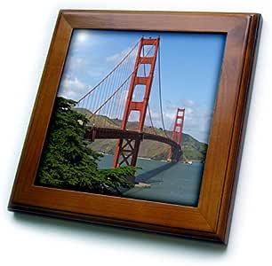 SANDY mertens 加利福尼亚–金门大桥 SAN francisco–框架瓷砖