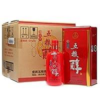 五粮醇 红淡雅 42度 500ml*6 整箱装 (五粮液股份有限公司产品)