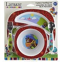 Lamaze Sir Prance-A-Lot 4 件套喂食套装(制造商已停产)