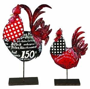 Manual Jennifer Brinley 法国公鸡,涂漆金属