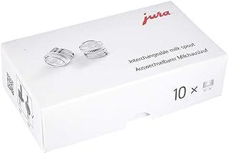 Jura 优瑞 72228 可更换牛奶出口,适用于专业精细泡沫喷嘴,10 件套