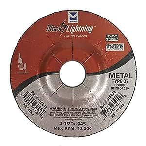 Mercer Industries 616040P 1 型切割轮,适用于铁矿金属 618010P