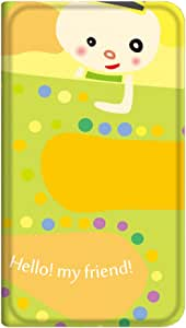 智能手机壳 手册式 对应全部机型 薄型印刷手册 cw-036top 套 手册 人物 超薄 轻量 UV印刷 壳WN-PR346805-ML Xperia ZL2 SOL25 B款
