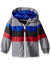 London Fog Boys' Chest Stripe Poly Lined Jacket